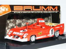 Brumm R239 Alfa Romeo 33TT 12 1975 Monza 1000km Test #1T 1/43
