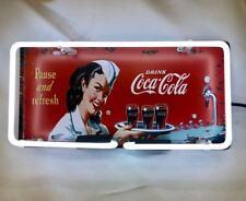 Neon Light Coca Cola Coke Nurse Lady Cap Soda Drink Poster Christmas Gift Sign