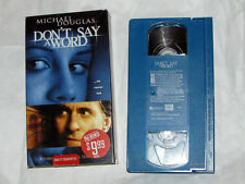 Don't Say a Word (VHS, 2002)