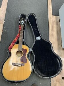 Guild F-212 Acoustic Jumbo 12-String Guitar (Damage)