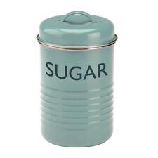 NEW Typhoon Vintage Kitchen Blue Sugar Canister