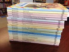 Lot of 20 MY FIRST LIBRARY books ALL HC Grolier nonfiction fiction homeschool