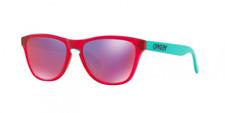 Oakley OJ9006 09 53 Oakley Frogskins 53 mm Matte Translucent Pink Sunglasses