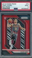 2018-19 Panini Red Prizm Trae Young Atlanta Hawks RC Rookie /299 PSA 9 MINT