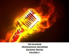 TIM McGRAW PROFESSIONAL RECORDED BACKING TRACKS VOLUME 2