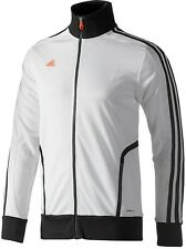 Adidas Predator Style Mens Large XL Jacket Track Top Soccer ClimaLite White Blk
