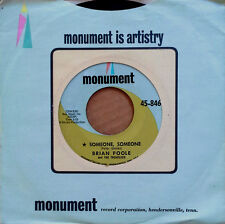BRIAN POOLE & THE TREMELOES - SOMEONE SOMEONE b/w WHERE WE. - MONUMENT 45 - 1964