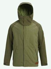 BURTON Men's HILLTOP Snow Jacket - Clover/ForestNight - XL - NWT