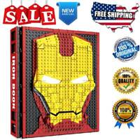 MOC SY1361 Marvel Avengers Book Model Building Blocks Sets Iron Man Minifigures
