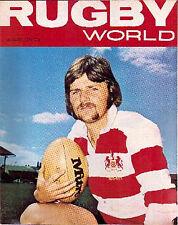 Rugby World Magazine Ago 1974 British Lions Tour de Sudafrica
