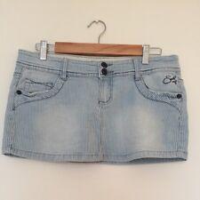Short striped denim skirt - Soulcal - size 10