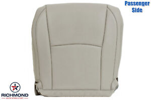 For 2006 2007 2008 Lexus RX400h RX -Passenger Side Bottom Leather Seat Cover Tan