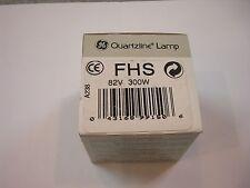 GENERAL ELECTRIC HALOGEN LAMP FHS 82V 300W GX5.3