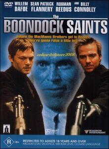 The BOONDOCK SAINTS Willem DAFOE Billy CONNOLLY Mafia ACTION THRILLER DVD Reg 4