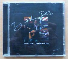 David Poe – The Late Album CD 2003