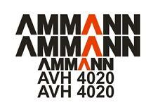 Sticker, aufkleber, decal - AMMANN AVH 4020
