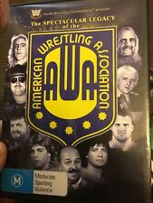 WWE The Spectacular Legacy Of The AWA (pro wrestling) region 4 DVD (2 discs)