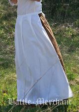 Battle Merchant Mittelalterliche Schürze Weiß Damen LARP Mittelalter