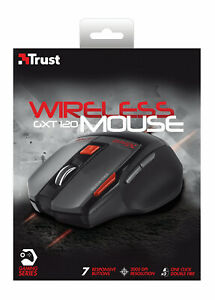 TRUST 19339 GXT 120 GXT120 2000 DPI BLACK WIRELESS OPTICAL GAMING MOUSE
