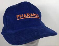 PharX Mor Hat Blue Corduroy Rave Festival Party Cap Supreme Pharmacy Pill
