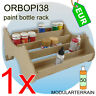 1x ORBOPI38 Stackable Paint Rack Organizer 50 Vallejo Andrea / 35 Tamiya Bottles