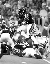 1982 Chicago Bears WALTER PAYTON Glossy 11x14 Photo NFL Print Football Poster