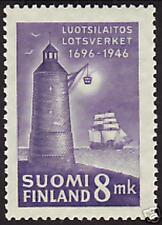 Lighthouse Utö Pilotage Service Finland MNH Stamp 1946