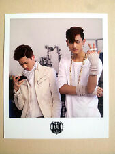 "EXO-M EXO M  ""Wolf""  POLAROID CARD SM OFFICIAL GOODS  - SUHO & TAO / NEW"