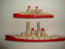 Spcl Price! * Set Us Navy Dreadnaughts / Battleships * Celluloid * 1920