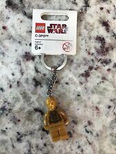 New Lego Star Wars C-3Po Minifigure Keychain #4585388