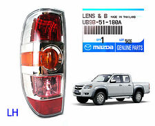 CHROME LEFT REAR TAIL LAMP LIGHT FOR MAZDA BT50 BT-50 XTR UTE PICK UP 2008-2011