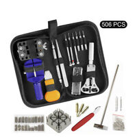 506pcs Watch Opener Hand Watchmakers Remover Repair Tool Kit Set