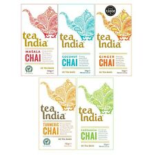 Assorted Boxes Spicy Chai Tea India 100g 40 Tea Bags (1 Supplied)