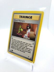 Good Manners - WOTC Pokemon - 1st Edition Gym Heroes - 111/132 - MINT