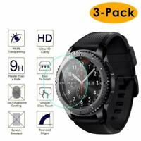 3 Pack For Samsung Galaxy Smartwatch 46mm 9H Screen Film For Watch Protection
