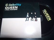 Queen + Paul Rodgers C-lebrity Promo Card Sleeve CD