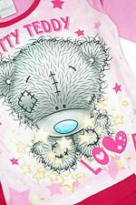Girls Official Me to You Tatty Teddy Bear Stars Love Pyjamas Pink sizes 5-12