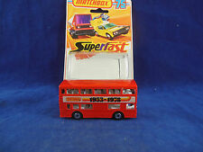 Matchbox Superfast MB - 17 b Daimler Fleetline Londoner Bus 1953 - 1978