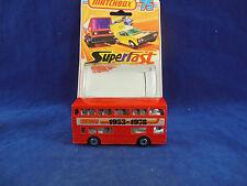 Matchbox Superfast MB - 17 B Daimler Fleetline londinense Bus 1953 - 1978