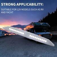 Wasserdicht Markisenleuchte 20 LED Marine Caravan Camper Außenveranda Lampe Weiß