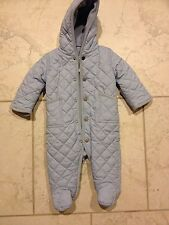 Ralph Lauren Baby Boys Quilted Fleece Lined Jacket/Coat/Snow Suit, Sz. 6 Mo