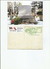 Confederate monument Camp Randall Wisconsin  postcard