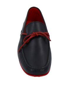 NIB TOD'S for Ferrari Gommino Men's Loafers  black / red leather US 11.5/UK 10.5