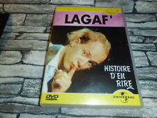 LAGAF'  HISTOIRE D'EN RIRE  VINCENT LAGAF  /  DVD RARE