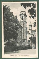 Marche. STAFFOLO, Ancona. Torre e ex convento S. Francesco. Viaggiata nel 1948