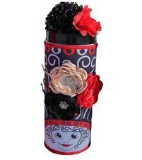 black HEADBAND Organizer HAIR Clips HOLDER Caddy storage gift Itsallonmyhead