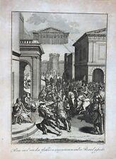 Rom Römer Brand Feuer Belagerung Gallier Antike Barbaren Plünderung Allia Kelten