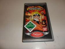 PLAYSTATION PORTABLE PSP Naruto: ULTIMATE NINJA HEROES PLATINUM []