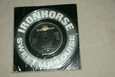 New listing IRON HORSE  **   CLEAR VINYL **   SWEET LUI-LOUISE  **  7``  VINYL RECORD SINGLE