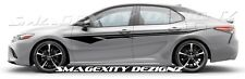 Toyota Camry Graphic Decal TRD Vinyl Matte Black NASCAR custom STRIPE hash marks